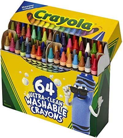 Crayola 64ct Ultra Clean Washable Crayons
