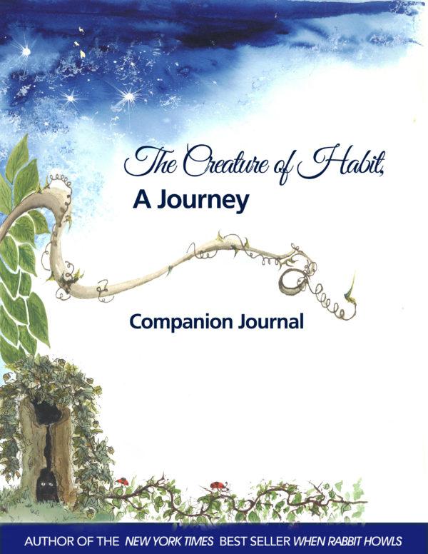 Creature of Habit 6 x 9 journal